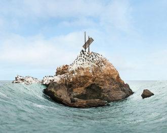 Sculpted Photographs of the California Coast