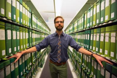 Grad Intern Diary: Nathaniel Deines