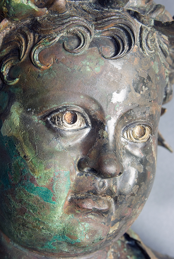 Bronze Patinas Noble And Vile The Getty Iris