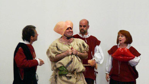 Comestibles—With a Side of Comedy—in Medieval and Renaissance Theater