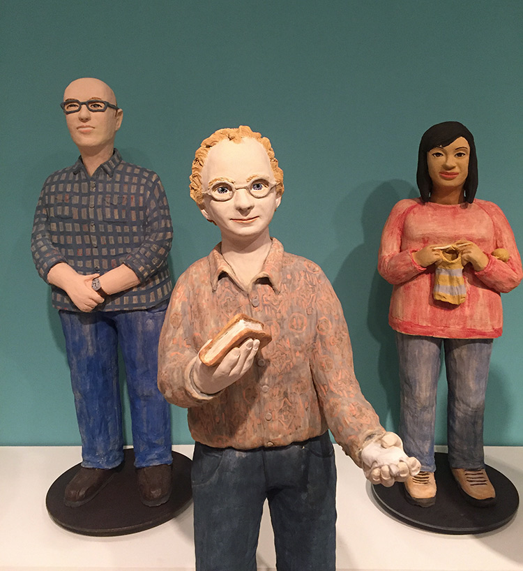 Clay Sculptures Of Archivists Show The Human Face Of Big