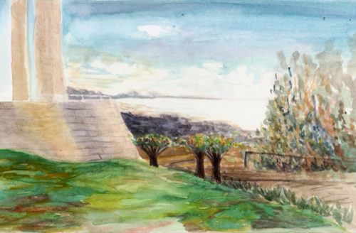 L.A.'s People and Places, Brought to Life in Watercolor