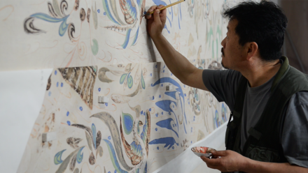 VIDEO: Creating Replicas of Buddhist Cave Temples at the Mogao Grottoes