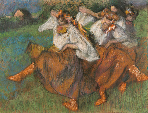 Orgies of Color: Degas's Russian Dancers
