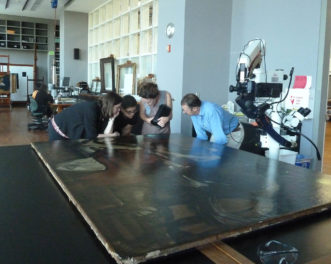 Conservators Get to Know Guercino's <em>Jacob Blessing the Sons of Joseph</em>