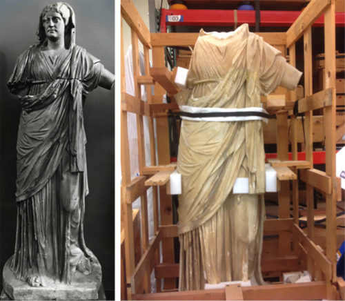 A Curator's Keen Eye Reunites Statue's Head with Body