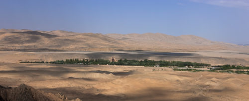 Art Meets Environment in the Cave Temples of Dunhuang