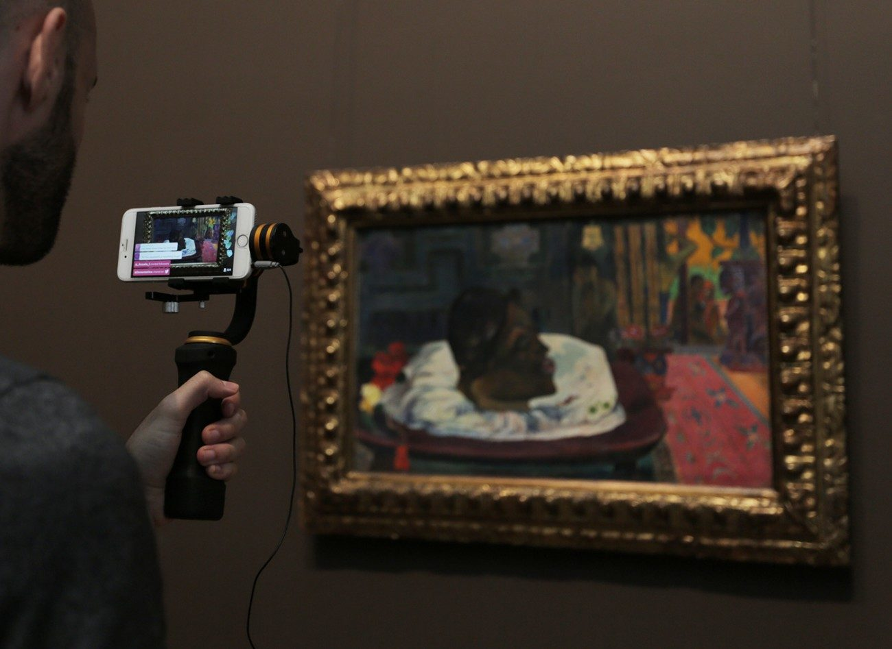 Using Live Video to Connect with Art and Each Other