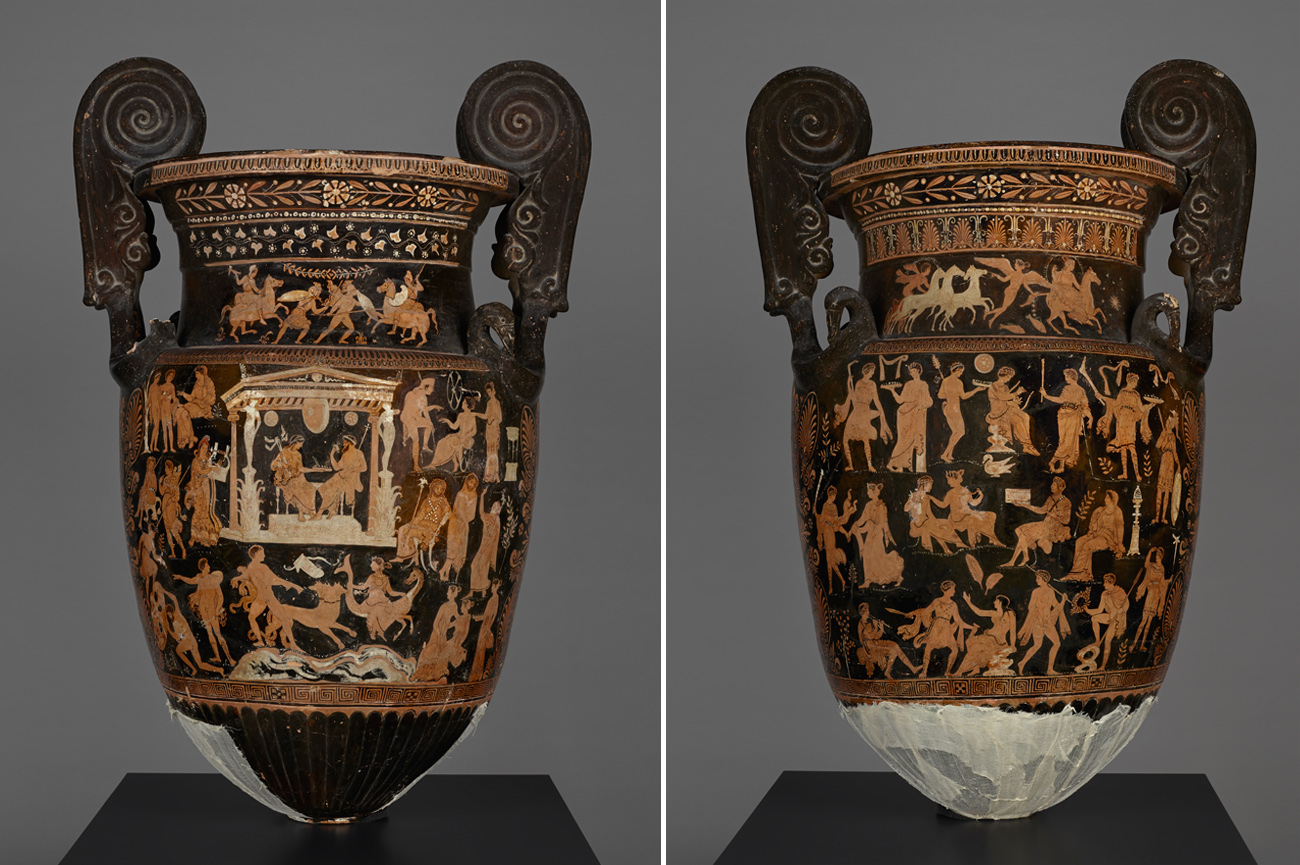 Ancient Vase Presents A Who S Who Of The Underworld The Getty Iris