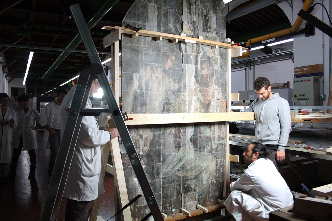 50 Years after the Flood, a Renaissance Painting Restored