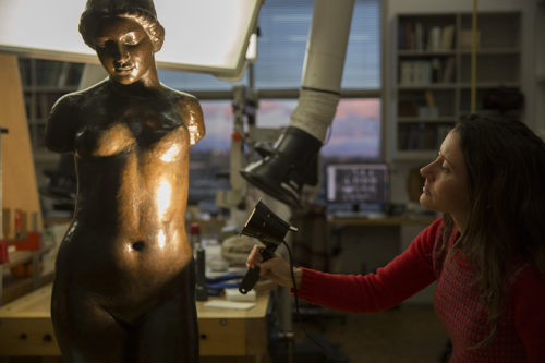 Conservation Up Close: Maillol's <em>Torso of Dina</em>