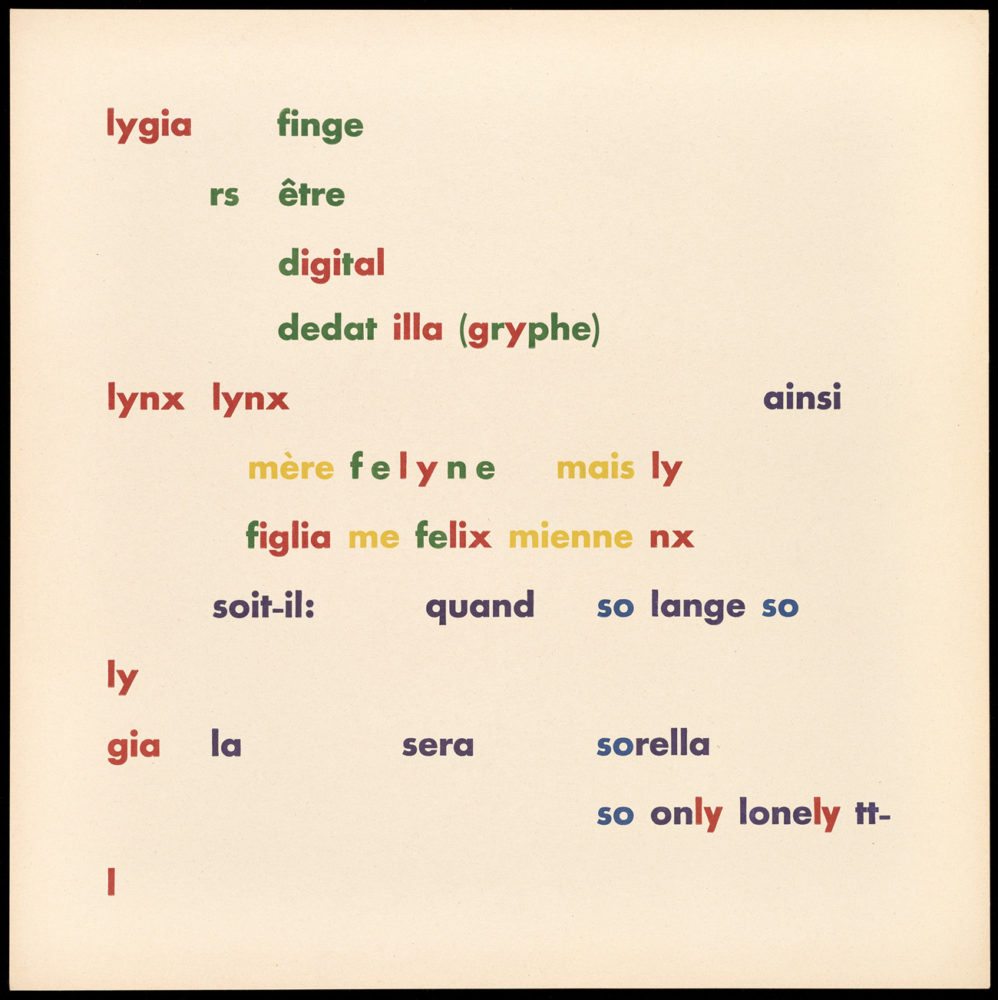 What Is Concrete Poetry?