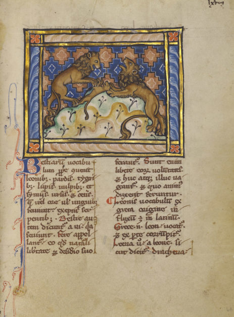 Symposium Presents New Research on the Medieval Bestiary
