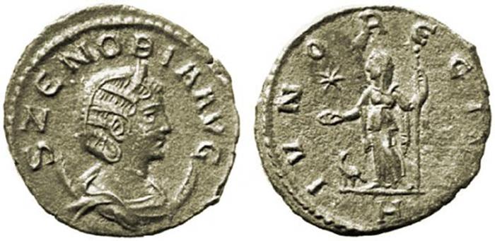 Zenobia Avg / Ivno Regina coin