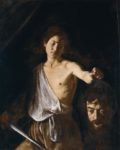 <em/>David with the Head of Goliath, about 1609–10, Caravaggio. Oil on canvas.