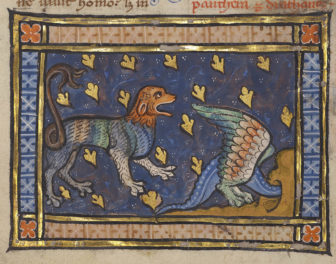 The Panther, Alpha and Omega of the Medieval Bestiary