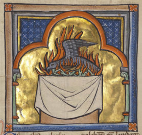 Dumbledore's Phoenix and the Medieval Bestiary