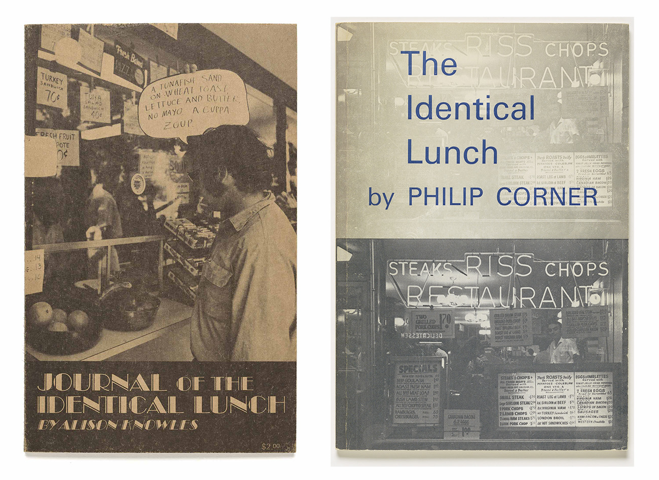 The journal of the Identical Lunch