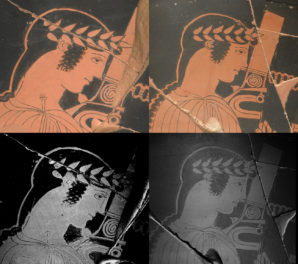 Uncovering Ancient Preparatory Drawings on Greek Ceramics