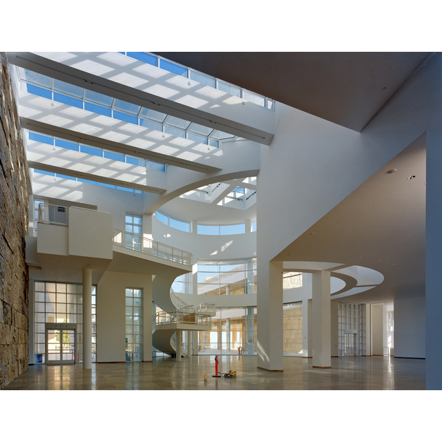 <em/>Entrance Hall, J. Paul Getty Museum, 1997, Robert Polidori. Chromogenic print, Image: 16 3/8 × 21 1/2 in., Sheet: 18 3/4 × 23 3/4 in. Courtesy of the artist in conjunction with The Lapis Press. © Robert Polidori