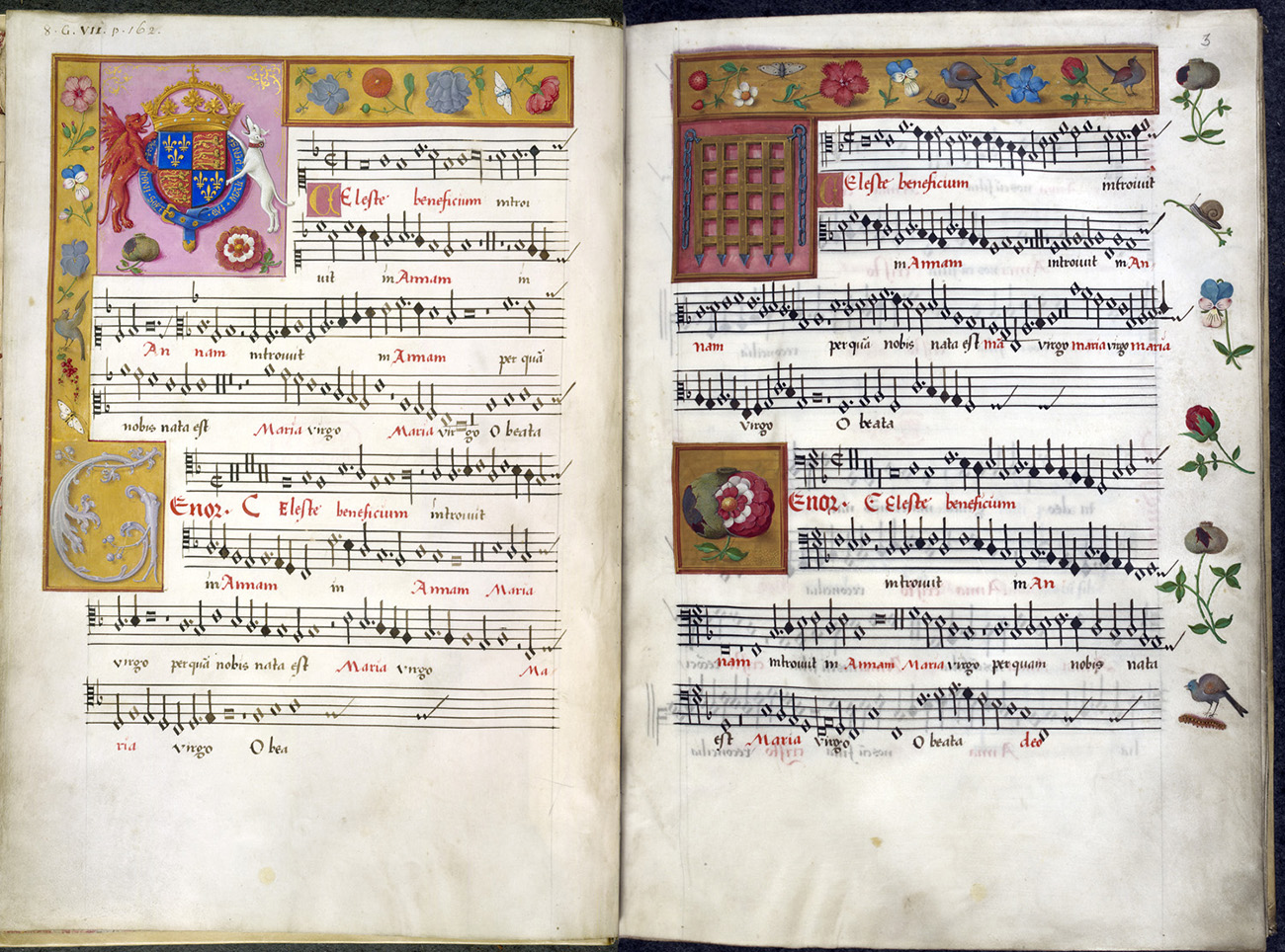 Renaissance era musical book.
