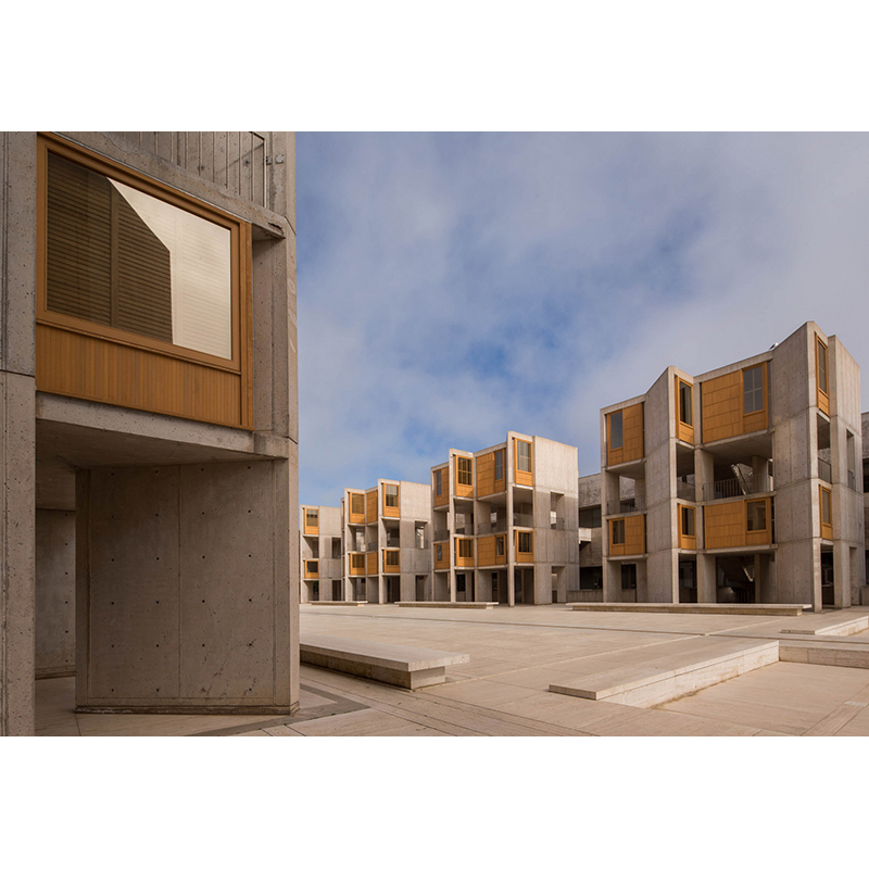 The Salk Institute after completion of the teak conservation project