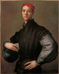 <em/>Portrait of a Young Man in a Red Cap (Carlo Neroni?) , about 1530, Pontormo (Jacopo Carucci). Oil on wood panel, 36 ¼ × 28 ¾ in. Collection of Mr. and Mrs. J. Tomilson Hill. Image courtesy Shepherd Conservation, London