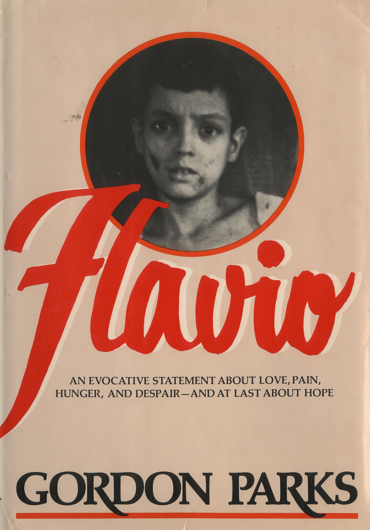 Cover of the Gord Parks publication named Flavio.