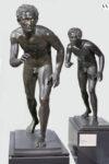 Runners, 1st century BC–1st century AD, Roman. Bronze, 46 1/4 × 18 1/2 × 41 in. Museo Archeologico Nazionale di Napoli. Photo: Giorgio Albano