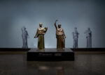 Dancers on display in Buried by Vesuvius: Treasures from the Villa dei Papiri