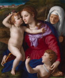 Rediscovered Painting by Bronzino Goes on Permanent View at the Getty Center