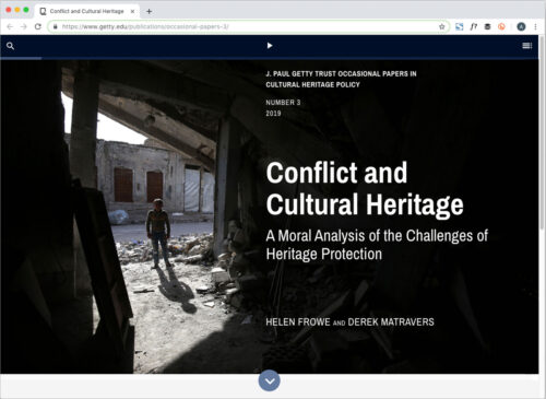 How Should the World Respond to the Deliberate Destruction of Cultural Heritage?