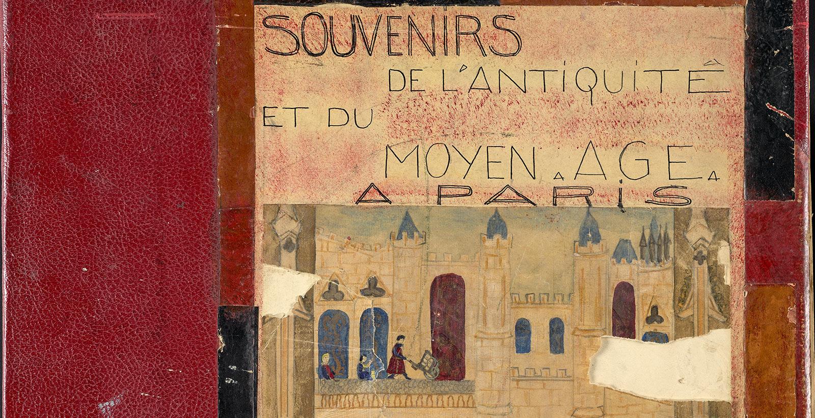 Souvenirs de l'antiquite et du Moyen Age Paris