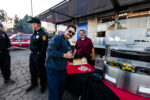 As a small token of appreciation, Getty offered responders dinner on Halloween from a food truck dispatched to the response staging area at the nearby Jackie Robinson Stadium.