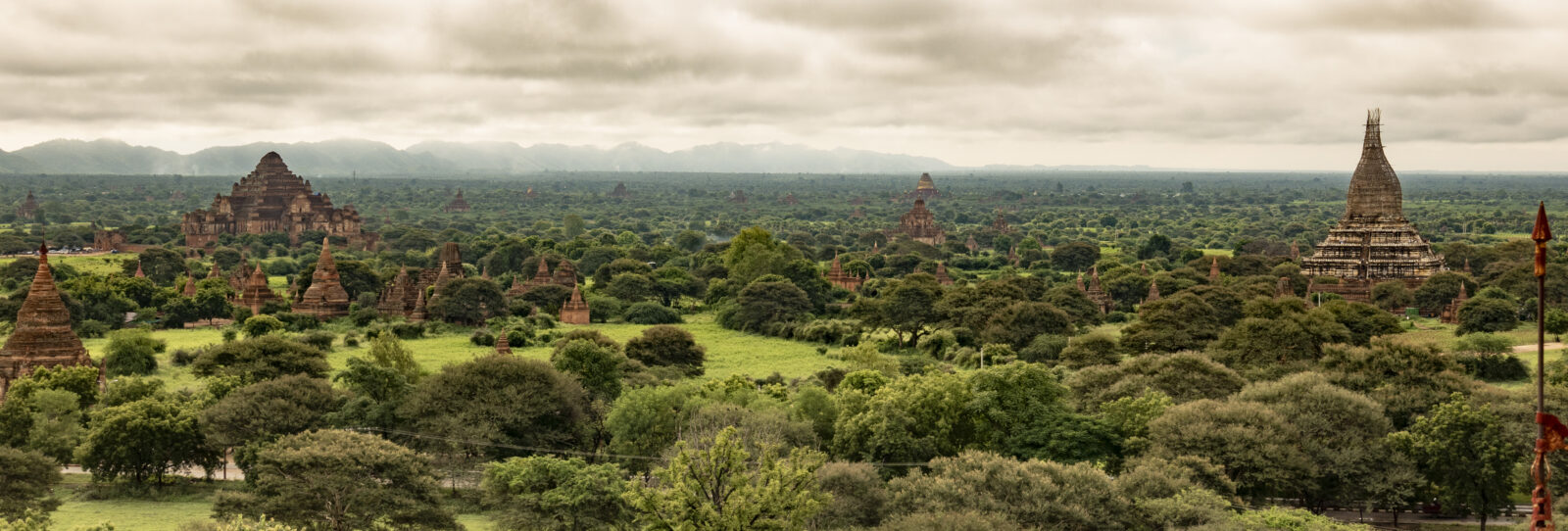 View of Bagan archaeological site, Myanmar. Courtesy of the J. Paul Getty Trust