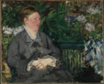 <em/>Madame Manet in the Conservatory, 1879, Édouard Manet. Oil on canvas, 31 7/8 × 39 3/8 in. The National Museum of Art, Architecture and Design, Oslo. Photo: Børre Høstland / Nasjonalmuseet