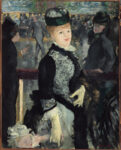 <em/>Skating, 1877, Édouard Manet. Oil on canvas, 36 1/4 × 28 1/4 in. Harvard Art Museums/Fogg Museum, Bequest from the Collection of Maurice Wertheim, Class of 1906. Photo: © President and Fellows of Harvard College