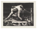 <em/>A Stag at Sharkey's, 1917, George Bellows. Lithograph, 18 7/8 × 24 in. Los Angeles County Museum of Art, Gift of the 1993 Collectors Committee. Photo © Museum Associates/LACMA