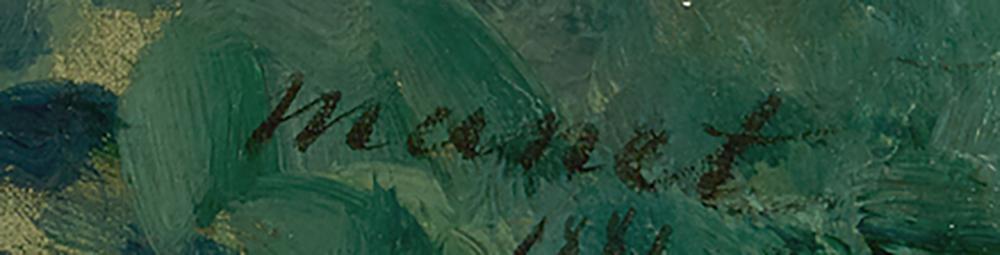 Manet's signature