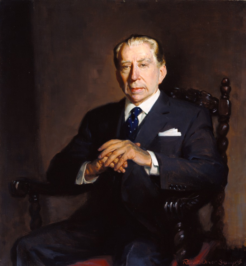 J. Paul Getty portrait