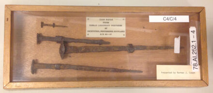 From Ancient Scotland to Online Auctions: A Tale of Roman Nails