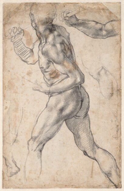 Rare Michelangelo Drawings on View at the Getty Center