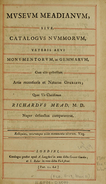 Title page, lots of text in Latin