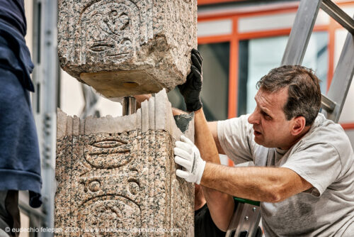 Photos: An Ancient Obelisk Goes Home