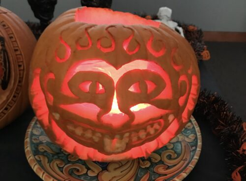 Liven Up Your Halloween at Home with These 5 Getty Villa-Inspired Pumpkins