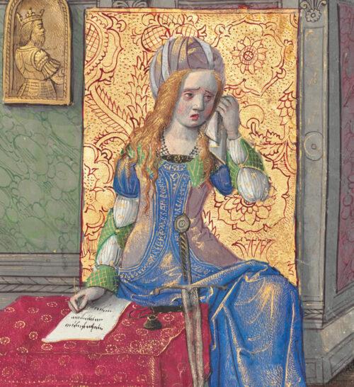 Female Expression in a 15th-Century Manuscript