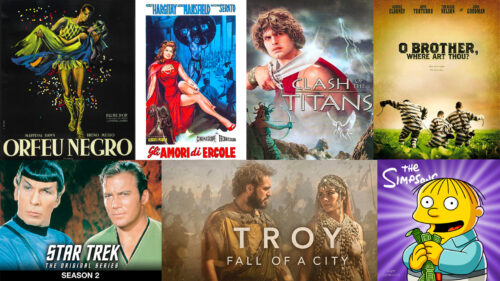 Greek Mythology and Ancient Daily Life in Film and TV
