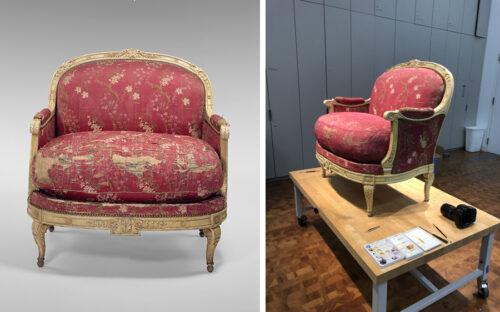 An 18th-Century Armchair in Focus